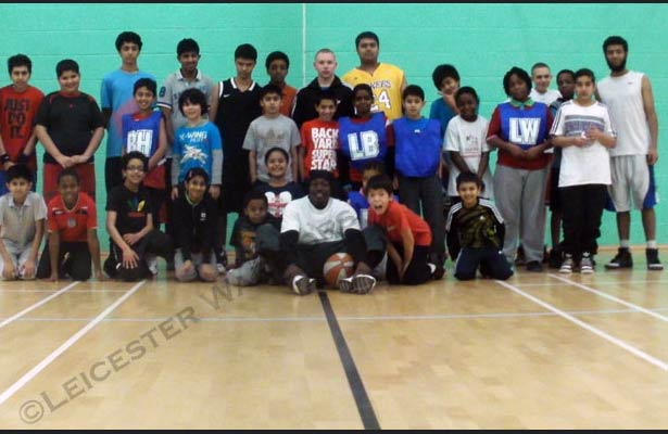 Leicester Warriors Basketball Camp