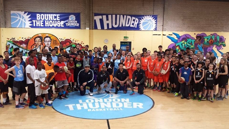 Leicester Warriors London Thunder Reach and Teach