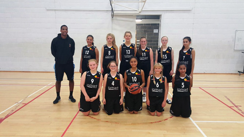 U14s Girls at Sheffield Hatters Pre-season Tournament