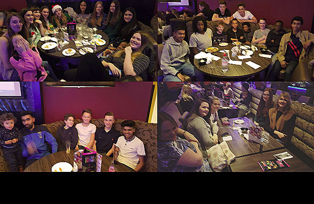 Leicester Warriors at More Restaurant