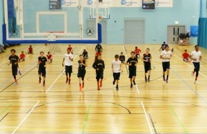 leicester warriors youth basketball