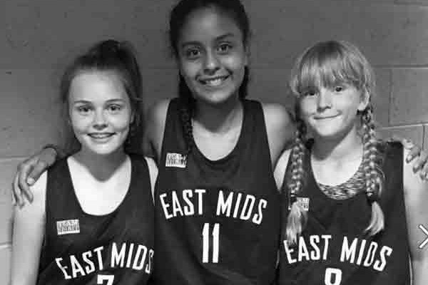 u13s east midlands girls basketball