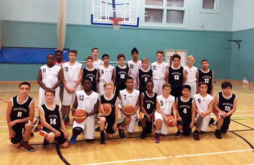 Leicester Warriorss u14s Pre-season Team