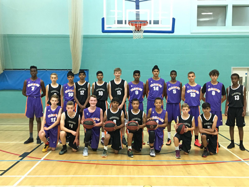 Leicester Warriorss u16s Pre-season Team