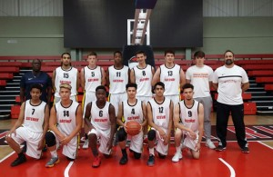 U18s Leicester Warriors Basketball Team 2016