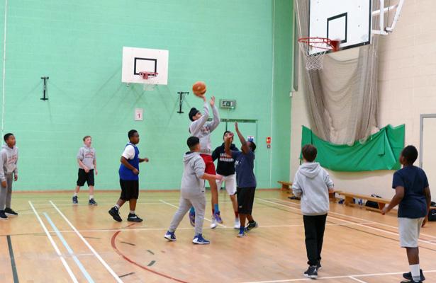 evington basketball training sessions