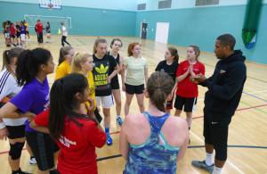 Leicester-warriors-girls-basketball-training-gateway-college