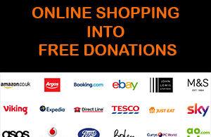 easyfundraising logo side banner