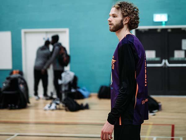 Dan Turiccki Pregame Warm Up Layup Lines Leicester Warriors
