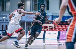 Lamin Willan Leicester Riders Charnwood Basketball