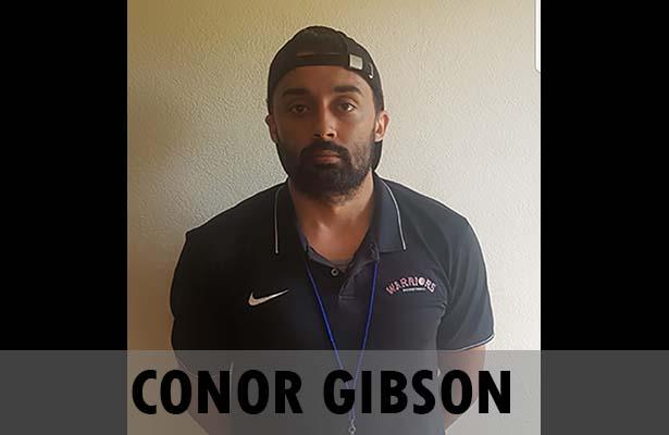 Coach Conor Gibson